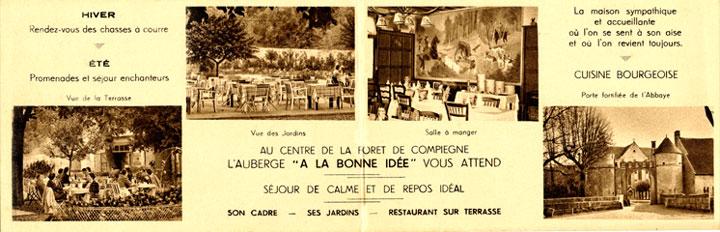 Restaurant La Bonne Idée SaintJean aux Bois ~ Restaurant Saint Jean Au Bois
