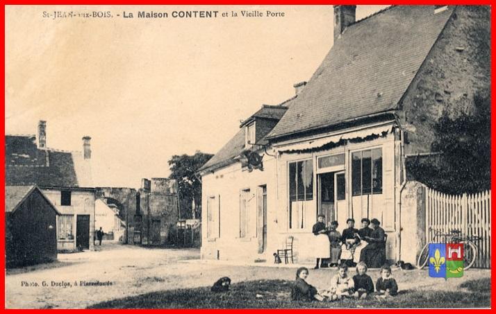 La maison Contant et la porte de SaintJeanauxBois ~ Restaurant Saint Jean Au Bois