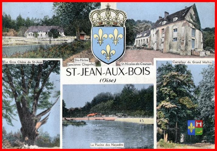 Saint Jean aux Bois, la Breviere, etang de Saint Perrne # Saint Jean Au Bois